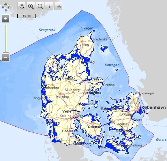 interactive flood risk mapping tool